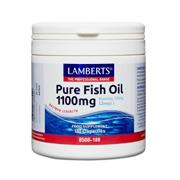 Pure Fish Oils Omega 3 1100mg Capsules
